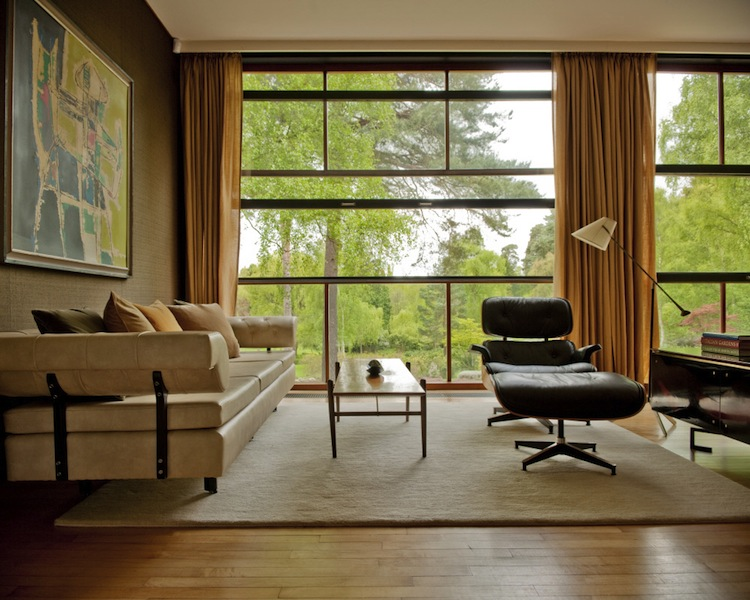 The Homewood Modernist house