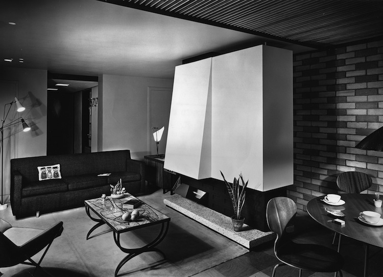 John Pantlin Photographs, Geffrye Museum,  mid century interior, mid century modern, mid century architecture,  viceroy court