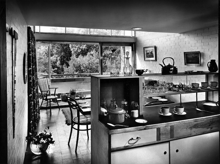 John Pantlin Photographs, Geffrye Museum,  mid century interior, mid century modern, mid century architecture, South Hill Park