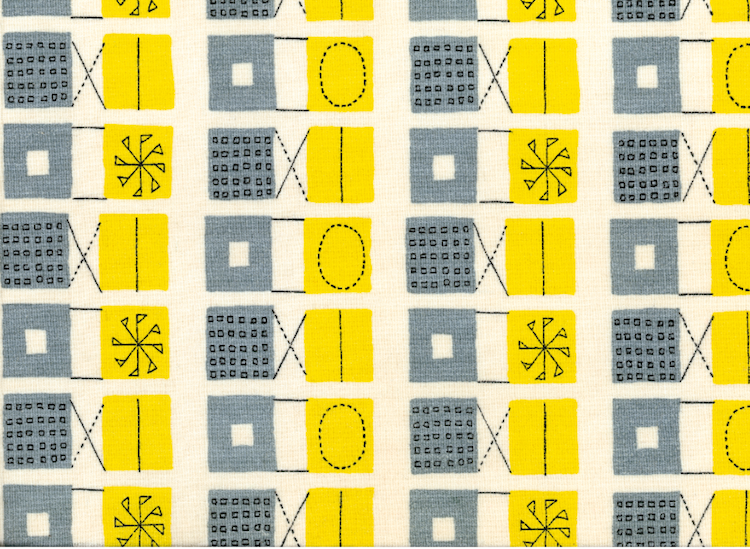 Lucienne Day, Heal's, mid century textiles, mid century design