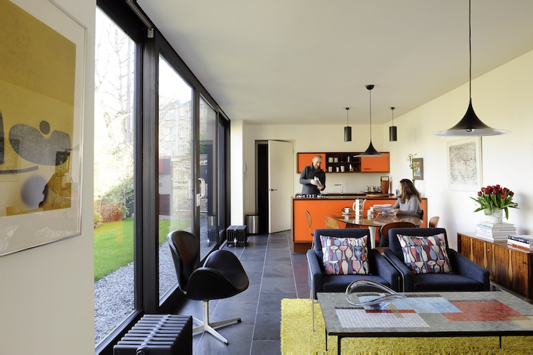 Scandinavian Modernism Transforming A Victorian Annex In Edinburgh