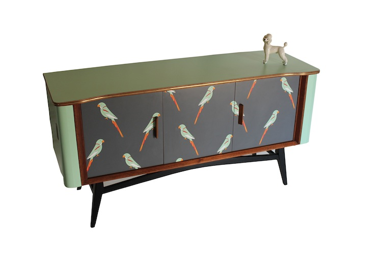 Formica upcycled vintage furniture by designer lucy for Furniture upcycling