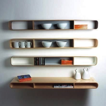 Isokon furniture,  Loop shelf, barber osgerby