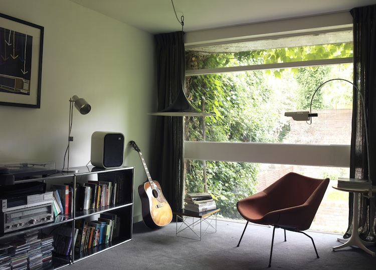 Norman Starrett, 1960s townhouse, Forest Hill, modern house, modernist architecture, London, Ben Adams