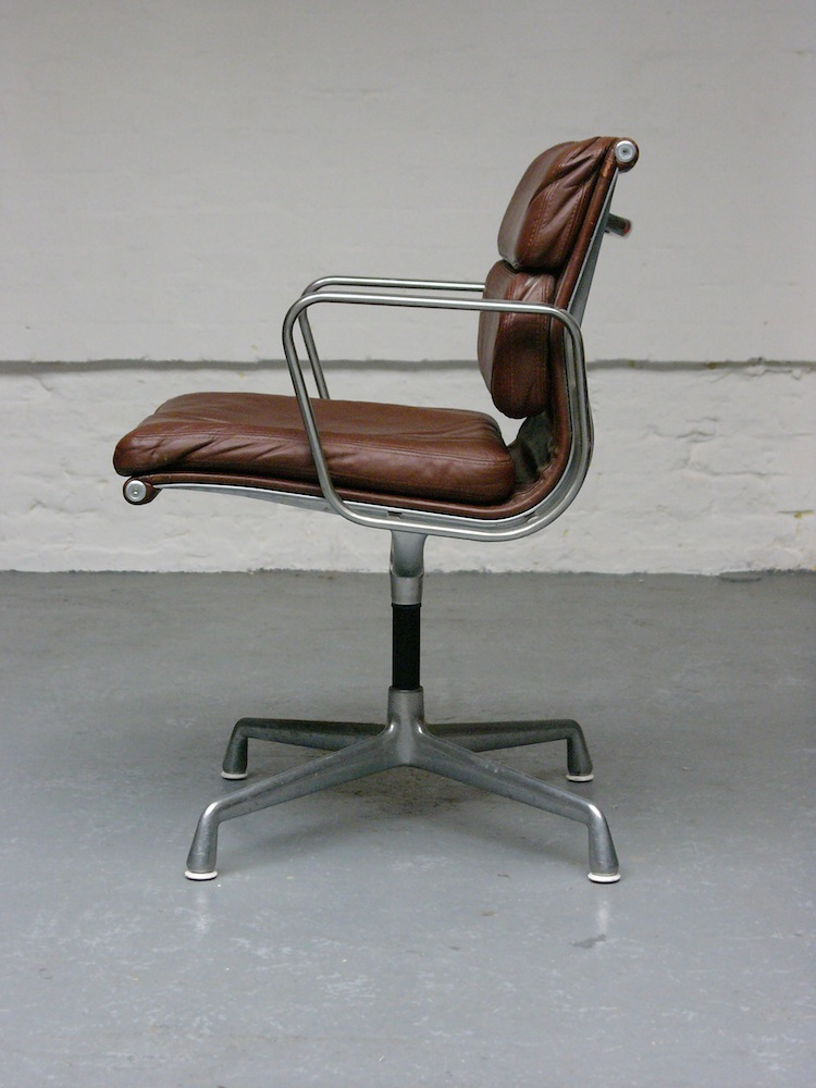 Eames chair, Soft Pad chair, Kevin McCloud, grand designs, modernist design