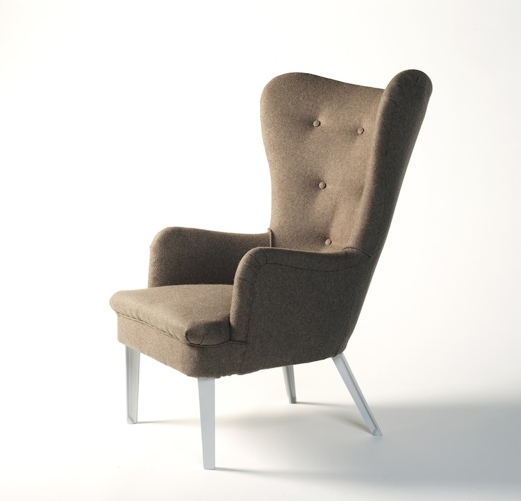 Ernest Race, Race Furniture, DA chair, mid century chair, Modernist furniture, British brand