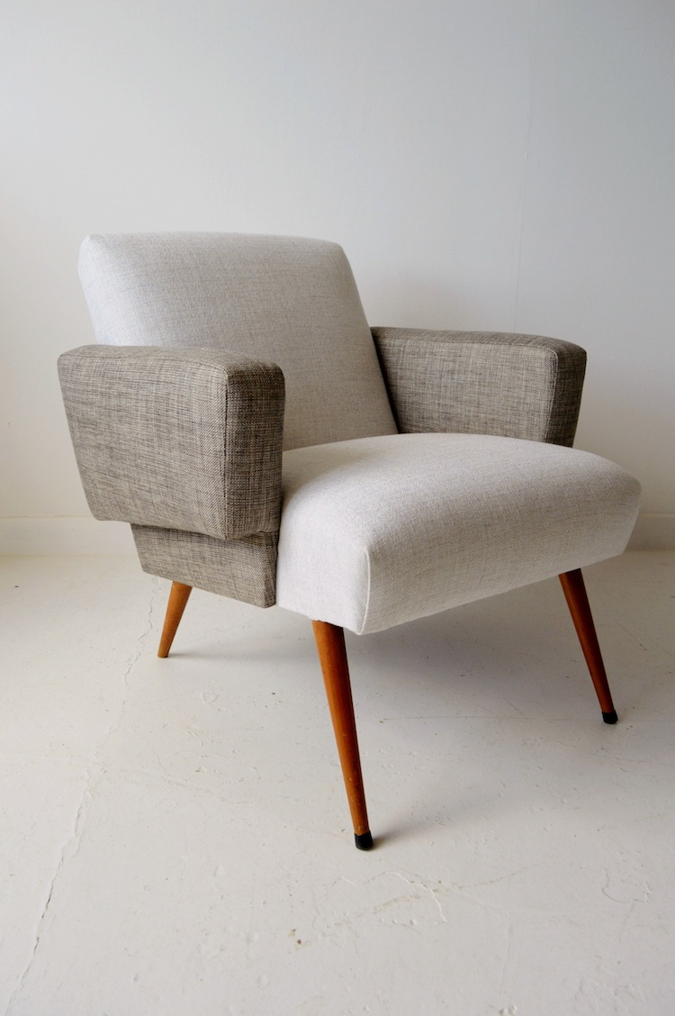 mid-century chairs, upholstery, midcentury furniture, haussmith