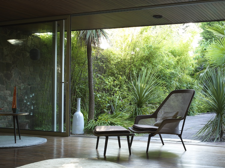 mid-century dream home, modernist architecture, David Shelley, Simon Siegel, Nottingham house, Gio Ponti