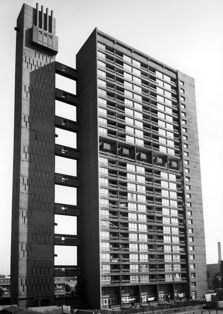 Balfron Tower, Erno Goldfinger, Modernist architecture, Brutalism, London, mid century