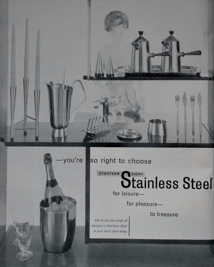 David Mellor, David Mellor and Robert Welch, cutlery, stainless steel, mid-century design, Robert Welch,