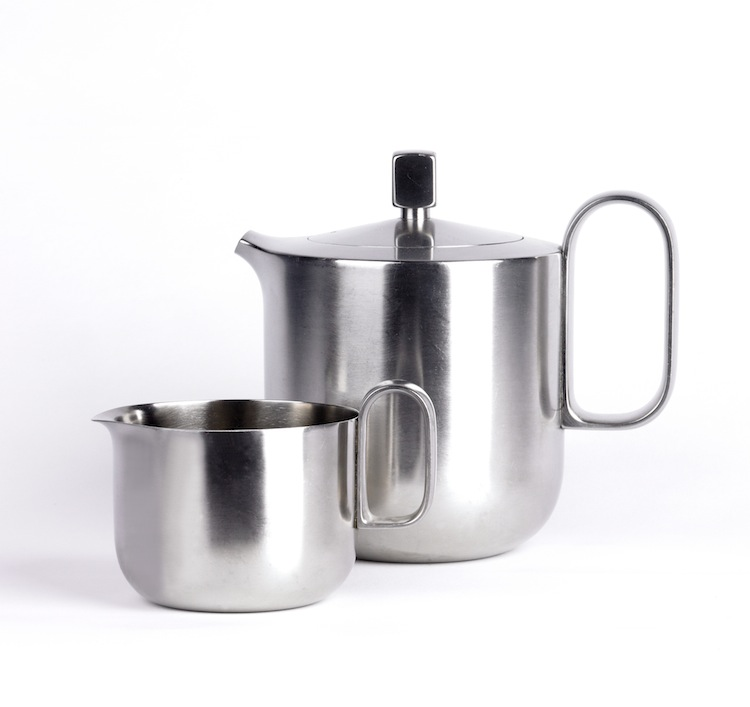 David Mellor, David Mellor and Robert Welch, cutlery, mercury tea set, mid-century design