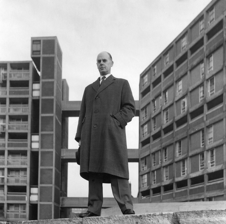 L. Womersley, Park Hill estate, sheffield, modern architecture, mid-century, london