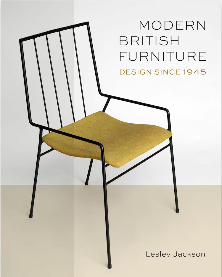 Modern British Furniture, mid-century book, British, Lesley Jackson, Mid-century furniture, V&A, Ernest Race, Robert Heritage, Robin Day, Ercol,