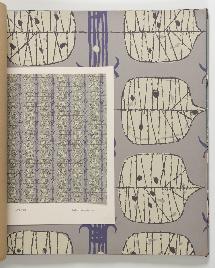 mid-century wallpapers, Palladio wallpapers, design, mid-century, pattern, 1950s, MoDA, design,
