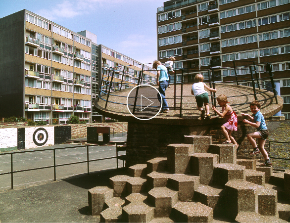 Architects at play, le corbusier, modernism, london, post-war playground