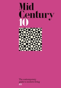 midcentury magazine, issue 10, modern